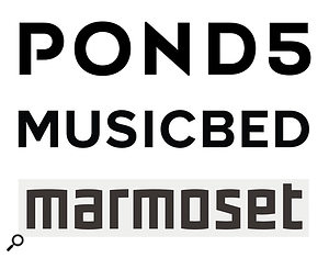 So-called 'royalty-free' online portals such as Pond 5, Marmoset and Premium Beat are a  growing presence at the lower end of the library music market.