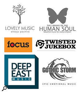 Smaller independents include my labels (Gothic Storm, Library Of The Human Soul, Minim and Lovely Music), Twisted Jukebox, Deep East, Focus Music and hundreds more around the world.