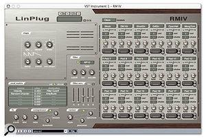 Although it only provides six controls, RMIV's clap synthesizer is surprisingly versatile.