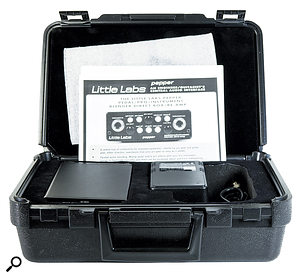 The Pepper comes in a  robust plastic carry case, along with power supply and manual.