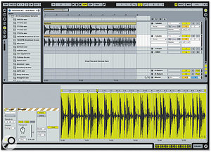 Multiple Clips can now be warped as one -- great for fixing multi-miked drums, for example.