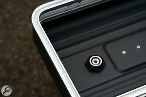 This rack case lid incorporates a weatherproof sealing strip.