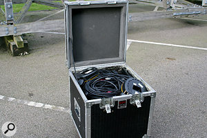 A cable trunk. It's amazing what you can fit in when you try...