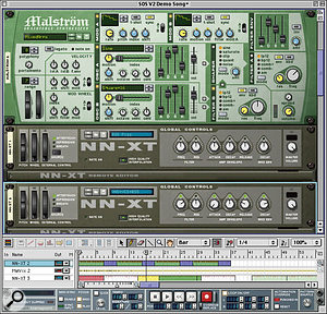 A cross-platform sequencing application such as Propellerhead Software's Reason makes its easier to get your live set playing on a loaned machine if your own laptop gives up the ghost.