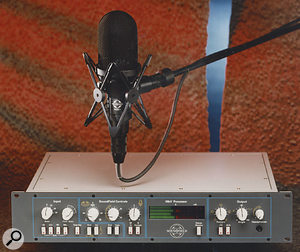 The top-of-the-range MkV Soundfield mic and processor.