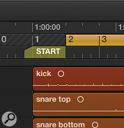 Regardless of locator positions, a well-placed marker ensures playback from the beginning of your track.