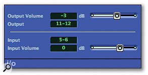 The I/O plug-in is the key to accessing external processing, such as the multi-band tube emulation of the Drawmer DC2476, while mastering in Logic.