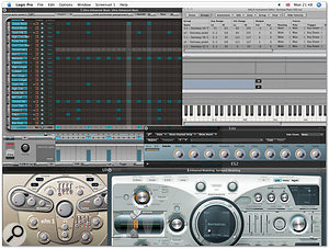New Instrument Features In Logic Pro 8