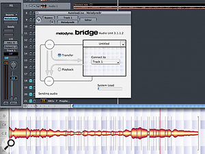 Although it's possible to use Celemony's powerful Melodyne software to process Logic's audio tracks in real time, this feat is achieved by exporting audio to Melodyne via the special Melodyne Bridge plug-in, so Melodyne isn't really integrated into the sequencer directly.