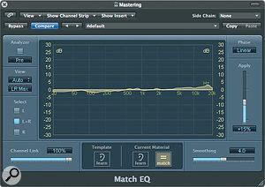 The Match EQ plug‑in.