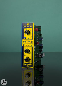 As well as the dual-channel rackmount version of the Emperor reviewed here, a  single-channel 500-series module is available.