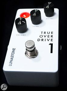 LunaStone True Overdrive1 Guitar Pedal.