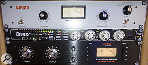 13. Three compressors each performed aslightly different gain-reduction task on vocals.