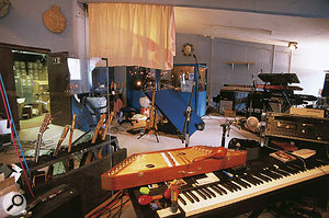 The huge live area in Marillion's Racket Club Studios.