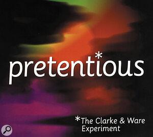 Martyn Ware: Pretentious album sleeve artwork.