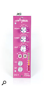 The OC1 optical compressor, which features an unusual 'compression ratio' meter.