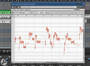 Melodyne Essentials is now included within the Pro Studio version of Mixcraft.