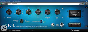 There are some excellent new plug-ins in Mixcraft 8, including the DTC-1 Compressor.