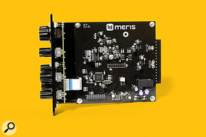 The Meris Ottobit is based on 32-bit floating-point DSP hardware.