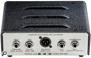 The Cab Clone is available with a 4, 8 or 16 Ω internal load, but that impedance is fixed.