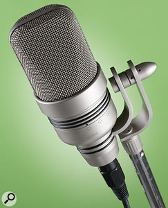 Microtech Gefell UM930 microphone.