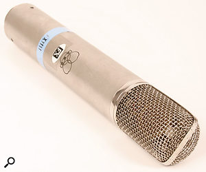 AKG's classic C12 valve mic.