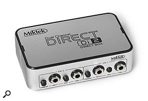 Miktek DI1 & DI2 Active DI Boxes