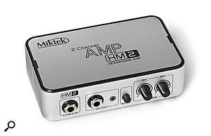 Miktek HM2 & HM4 Headphone Amplifiers