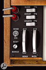 Using a pedal to control Minimoog V.