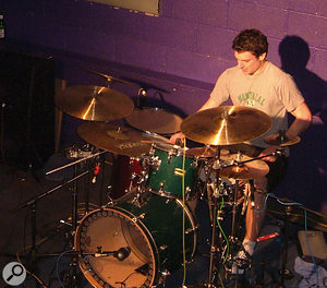 The kick-drum sound was given extra definition using slow-attack compression, and the hits were then limited to make their level in the mix more consistent.