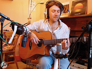 Matt James, whose track was recorded by this month's Mix Rescuee David Greaves.