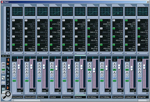 Mike made extensive use of send effects in his remix of 'Dressed To Kill'. Notice how each has been EQ'd to reduce clutter and give the effects separate characters.