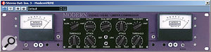 A Manley Vari Mu compressor emulation (Antress Modern VRME) helped give the overall mix a bit of rock-style pumping. It was preceded in the signal chain by an instance of GVST's GGain plug-in, which was automated to drive the compressor harder during the song's choruses.