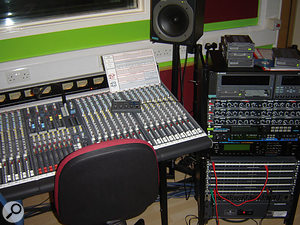 The original tracks were recorded using an Allen & Heath console and Alesis HD24 multitrack recorder, and the band's mix was then carried out on their home Cubase system.