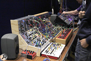 Check out all sorts of modular gear at SynthFest UK.