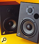 In lower-cost monitors (such as the Event TR5 and Behringer B2030A Truth shown below), the main side-effect of this design is a smearing of low-end transients which makes it difficult to judge the balance of bass instruments. However, the problems of ported cabinet design can be overcome, and more expensive models such as the Earthworks Sigma 6.2, Fujitsu Ten Eclipse TD512, Tannoy Ellipse 10 IDP, and ADAM S3A are able to achieve professional performance.