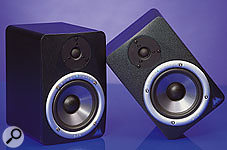 Ports are used in the majority of project studio monitors, primarily because they help boost the output level at low frequencies, such as the M-Audio BX5.