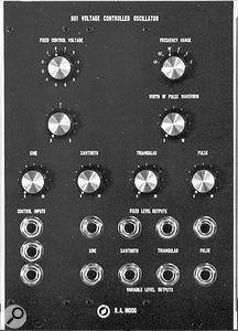 The 901 VCO module.
