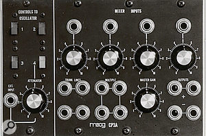 The CP3A control voltage mixer.