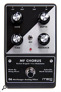 Moog MF Flange & MF Chorus  Modulation Effects Pedals