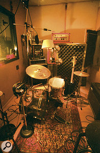 Jan St Werner is a drummer as well as a programmer, and Mouse On Mars also use drummer Dodo Nkishi for live work.