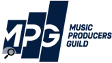 Music Producers' Guild UK logo.