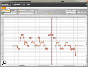 To create the vocoder effect for the chorus vocal, Melodyne was used to turn the vocal melody into a MIDI file. Instances of the Waves Morphoder plug-in were then used on both the MIDI and remaining audio vocal track to produce the vocoder effect.