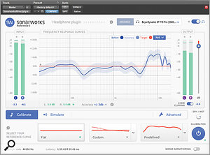 Sonarworks' headphone correction tool was used to double check any problems with the low-end in the mix.