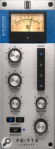 The Slate 1176-style compressor was used heavily on the lead vocal, but with the parallel 'mix' knob dialed back.