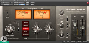 Saturation plug-ins were used at various points in this mix, though each was used fairly sparingly. This included using Softube's new Harmonics dynamic saturation plug-in on the master bus.