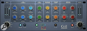 Acustica Audio's new Ceil plug-in was one of several processors used on the lead vocal.