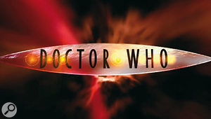 The CGI titles and logo created in 2005 for the programme's return. Murray Gold's new version of the theme was composed for use with these.