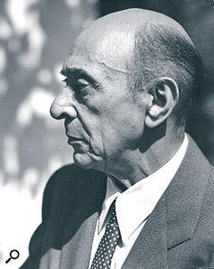 Arnold Schoenberg, 1948.