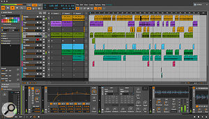 Bitwig 8 Track is included with the LX88+ and takes full advantage of the controller integration features.